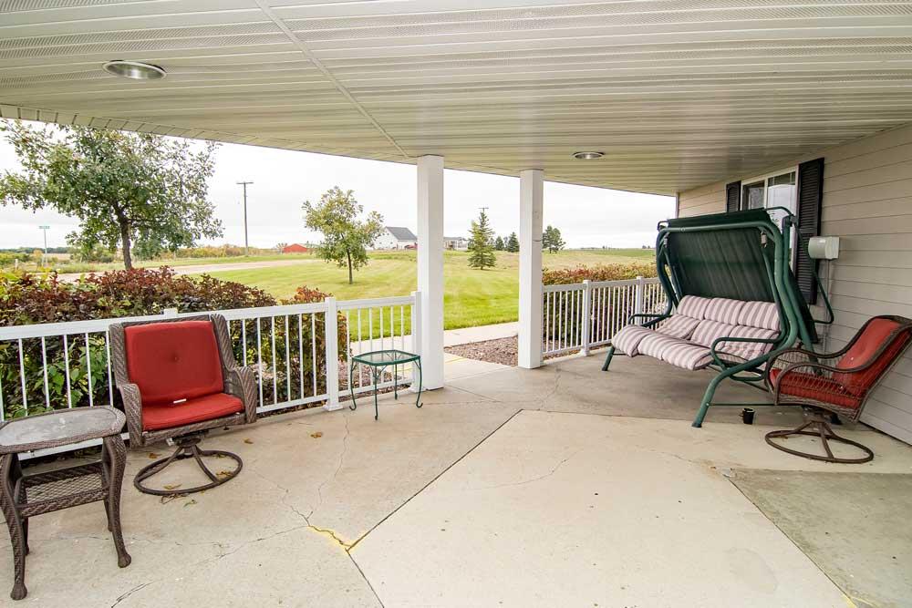 Sisseton SD - patio